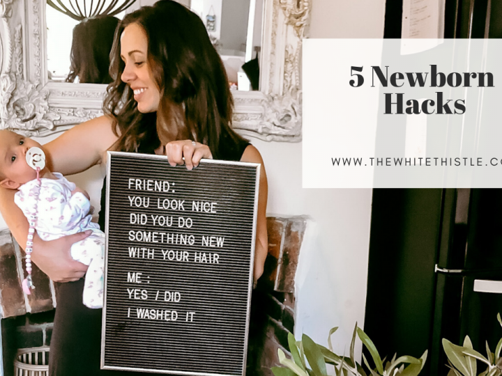 5 Newborn hacks you need to know to survive the first three months