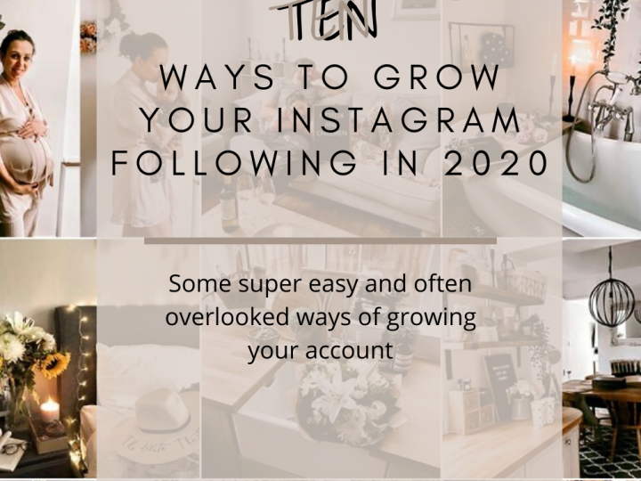 10 ways to grow your Instagram following in 2020