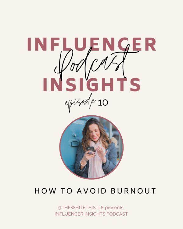 How to avoid burnout | The White Thistle | Abi Hugo